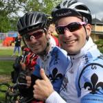 Deux membres du club les Dynamiks de Contrecoeur.