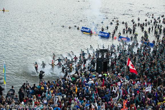 Départ natation  Photo (C) Nathatlie Madore