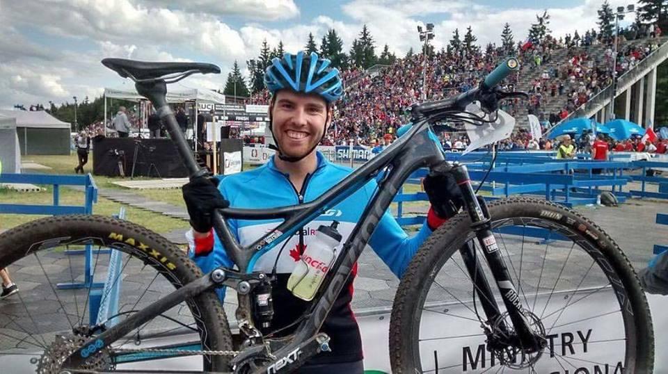 Léandre Bouchard aux Championnats du monde